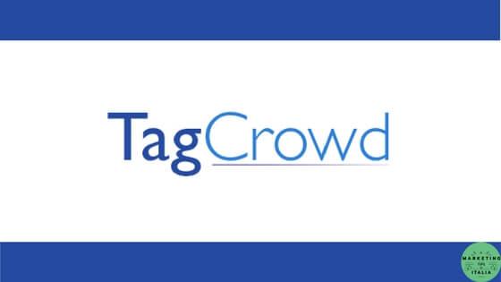Creare Tag Cloud con TagCrowd