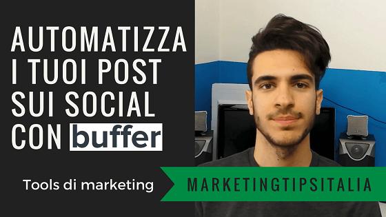 Automatizza i tuoi post sui social con Buffer