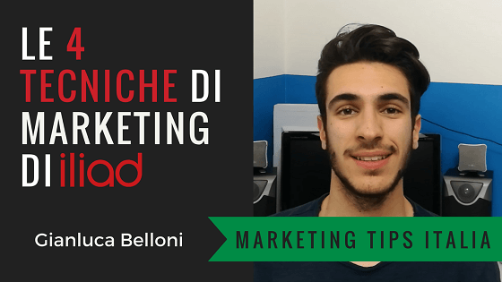 Iliad: le 4 tecniche di Marketing usate al lancio