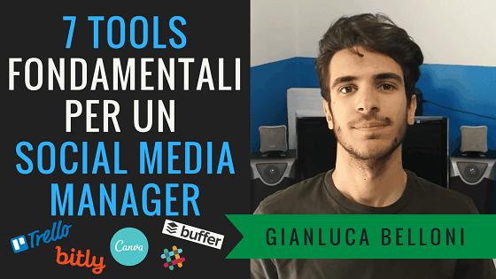 7 Tools per SOCIAL MEDIA MANAGER