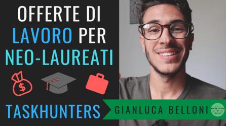 Offerte di lavoro per Neolaureati e Laureandi | TaskHunters